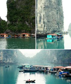 Halong Bay Floating Village, Vietnam