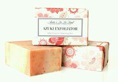 Azuki red bean scrub Soap