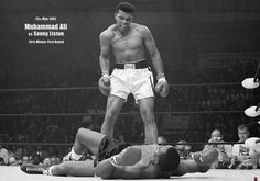 """""""Only a man who knows what it is like to be defeated can reach down to the bottom of his soul and come up with the extra ounce of power it takes to win when the match is even."""" -- Muhammad Ali, boxer"""