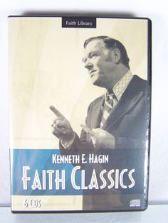 Rev. #Pastor Kenneth E. #Hagin #Christian #Ministries #Faith Classics Library six (6) piece count #audio audio-book CD CD-ROM disc set #religious and #spiritual teaching #sermon #devotional message series, brand new and unused in original manufacturer's clear and black clam-shell case with plastic sealed protective packaging and original paper cover art insert…