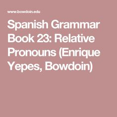 Más de 1000 ideas sobre Relative Pronouns en Pinterest | Gramática ...