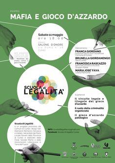 11 maggio a Cuneo con Scuola di Legalità un incontro sul gioco d'azzardo