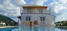 Villa Calypso & Erato, Kanouli / Korfu Süd-West- Ferienhaus der Luxusklasse zu mieten bei Korfu Exklusiv