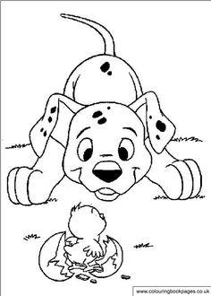 coloring page 101 dalmatians kids n fun - Coloring Pages 101