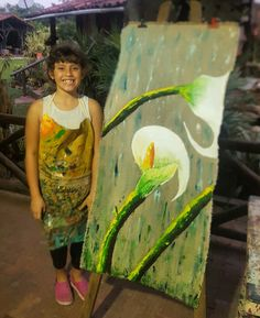 Flotante - acrílico - cartuchos - flores - decoración - arte