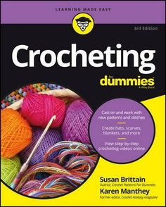 Crocheting For Dummies Book : ... on Pinterest How to crochet, Double crochet and Crochet stitches