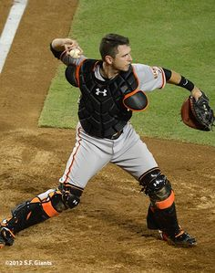 That's my favorite player right there! Buster Posey!
