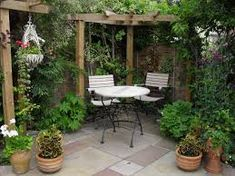Image result for garden patio ideas from around the world