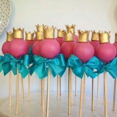 Cake pop princesa