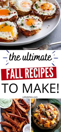 Here are some fall recipes that you want to make. From breakfast to sides and all things in between. Comfort food, healthy treats, and so much more. #fall #recipe #fallweather #winter #recipes #best Quick And Easy Breakfast, Breakfast Ideas, Cafe Delites, Recipe Link, Easy Food To Make, Winter Recipes, Healthy Treats, Love Food, Dinner Ideas