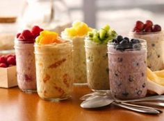 21 Day Fix Recipes - Refrigerator Oatmeal - There's Always Time 4 Fitness