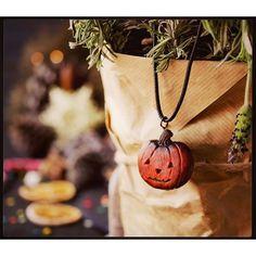 decorative pumpkin for Halloween with dried flowers by ViktoriaAgureeva Food Halloween Pumpkins, Halloween Decorations, Pumpkin Decorating, Dried Flowers, Washer Necklace, Pendant, Unique, Instagram Posts, Handmade