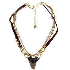 Annie Hammer Shark Necklace