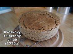 Kváskový celozrnný chléb snadno a rychle - pro začátečníky (verze s komentářem) - YouTube Lidl, Muffin, Breakfast, Youtube, Food, Morning Coffee, Essen, Muffins, Meals