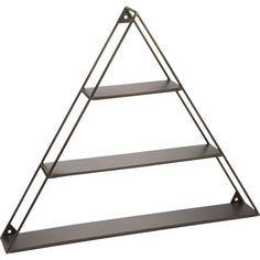 - A-  frame shelf:  Pure iron tri-level shelves make your point wall-mounted up or down, great in alternating directions in multiples.