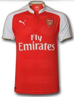 Arsenal Home Kit Arsenal Football, Football Kits, Arsenal Kit, Jersey Atletico Madrid, European Football, Fan Gear, Liverpool, Polo Ralph Lauren, Soccer