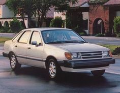 Ford Tempo Sedan Fords Mercurys Pinterest Sedans And