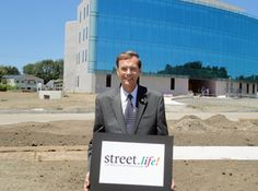 """Gordon Simmons: """"We feel by supporting Street.life! we will be supporting the community, the people and the businesses of our town.""""  -Gordon Simmons, CEO of Service Credit Union, Platinum Sponsor of Street.life!"""