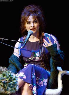 Helena Bonham Carter at the Hamptons International Film Festival - October 12, 2013.