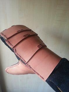 Viking reenactment hand protection