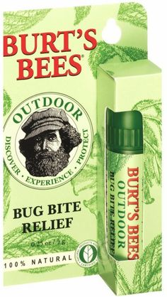 Burt's Bees Bug Bite Relief Stick, $4 - I am a mosquito magnet and I ALWAYS carry this with me as soon as the weather turns warm. Works like a charm.