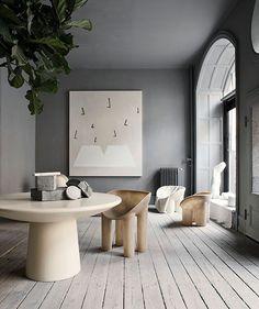 Faye Toogood's fiberglass furniture