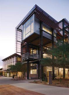 Arizona State University Polytechnic Campus; Lake Flato Architects