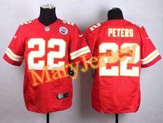 NFL Jersey's Men's Kansas City Chiefs Travis Kelce Nike Red Team Game Jersey