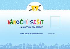 Kreativní vánoční sešit - ke stažení - Testováno na dětech