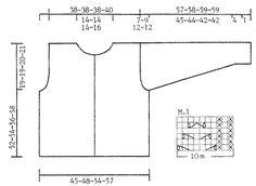 Cardigan DROPS con patrón de calados en Angora-Tweed ~ DROPS Design
