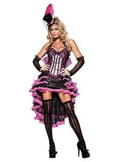 halloween costume burlesque, pin up, saloon girl Costumes Burlesques, Burlesque Halloween Costumes, Halloween Costume Accessories, Dress Up Costumes, Halloween Fancy Dress, Adult Costumes, Costumes For Women, Adult Halloween, Costume Ideas