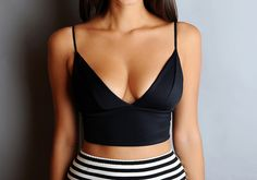 DIY Alexander Wang Inspired Bralette by apairandaspare, via Flickr