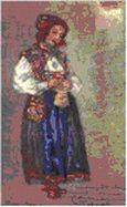 Н.К.Рерих. Гостья. 1912