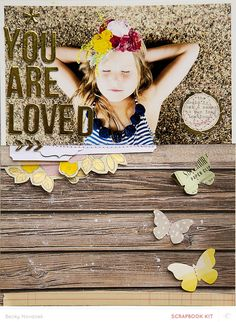 you are loved - color by beckynovacek at @studio_calico