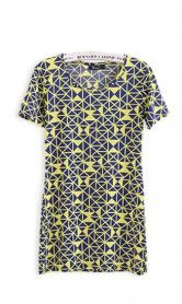 This dress has such an amazing geometric pattern that is hard to say no