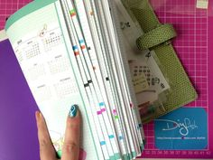 Colour coding your notes so you can find them easily. I'm hooked!