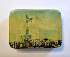 Rare 1920's Piccadilly Circus London by PopcornVintageByTann, $29.50