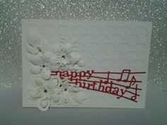 Birthday Cards Notes ~ Stampin up birthday cards orange flower happy birthday music