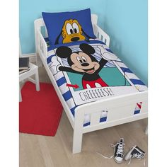 "Housse de couette junior Mickey Mouse ""Boo"" 120x150cm #couettejuniormickey #couetteenfantmickey"