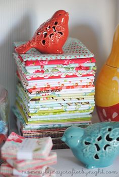 Mommy by day Crafter by night: Lots of Sewing Storage Ideas