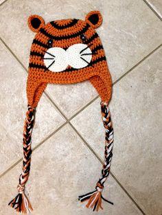 Tiger hat pattern!