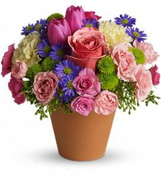 Last Chance for Easter Flowers!  Bunny's Best...Spring Sonota. $44.99