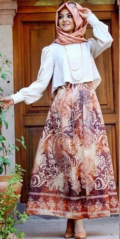 67 Ideas Style Hijab Casual Party for 2019 – Fashion Girl Hijab Abaya, Hijab Dress, Hijab Outfit, Abaya Fashion, Modest Fashion, Girl Fashion, Fashion Outfits, Hijab Casual, Hijab Style