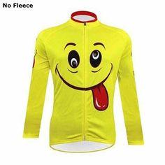 automne 2015 jaune pro cycling jersey sport wear ropa ciclismo invierno hombre vé Cycling Gear, Cycling Jerseys, Cycling Outfit, Cycling Clothing, Cycling Equipment, Men's Clothing, Emoji Man, Winter Cycling, Bike Shirts
