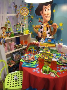 Toy Story Party.#toystory colourful