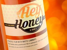 Impress your customers with professional custom honey labels. Choose from our many stocks and finishes to create a stunning and original look. Honey Uses, Honey Label, Waterproof Labels, Plastic Film, We Can Do It, This Is Us Quotes, The A Team, Printing Labels, Foil Stamping
