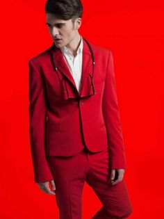 Matteo Molinari Spring-Summer 2013 Men's Lookbook-Tailoring Bold and To the Point ~ Men Chic- Men's Fashion and Lifestyle Online Magazine