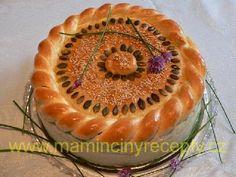 Plněný slaný dort