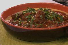 RECETTE: Rôti de palette a la Pizzaiola Beef Recipes, Cooking Recipes, Cooking Chef, Low Carb, Meat, Pallette, Pizzeria, Food, Caramel