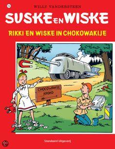 Suske en Wiske: Rikki en Wiske in Chokowakije (154). De plannen voor een Rakettank worden gestolen door geheime agenten uit Chocowakije. Rikki trekt naar dat land om de plannen terug te vinden. Met behulp van Wiske slaagt hij erin om de plannen te veroveren. Maar is er misschien nog iemand die hen geholpen heeft? En is de Rakettank intussen al gebouwd?